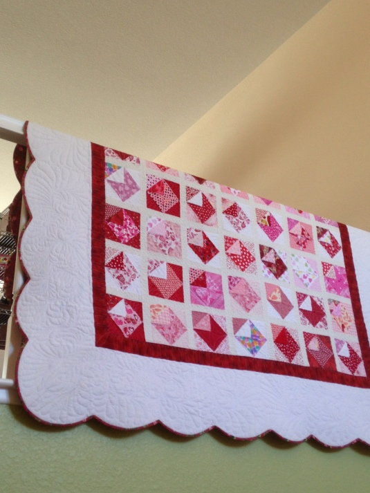 Love Notes Quilt Finished